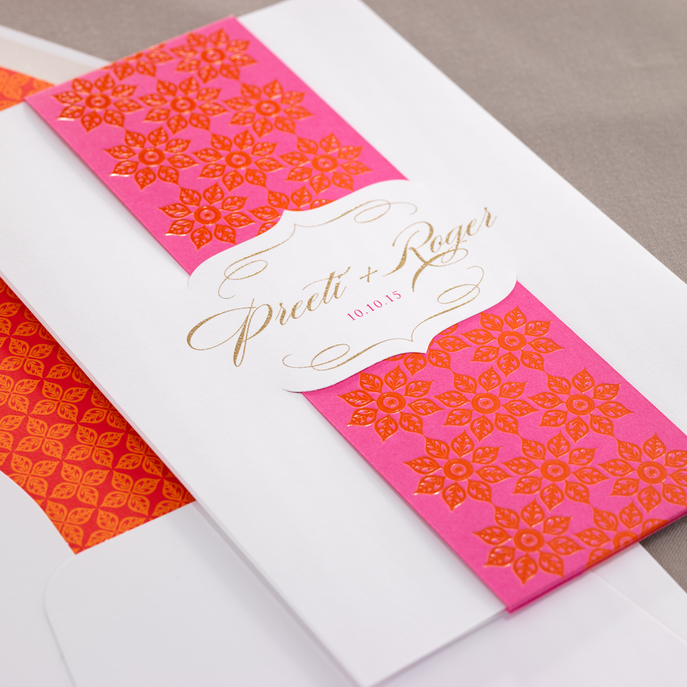 Checkerboard Invitations | Isabella Invitations