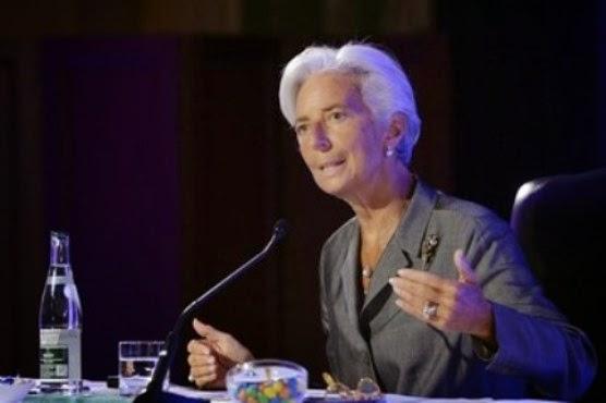 Η επικεφαλής του Διεθνούς Νομισματικού Ταμείου Christine Lagarde