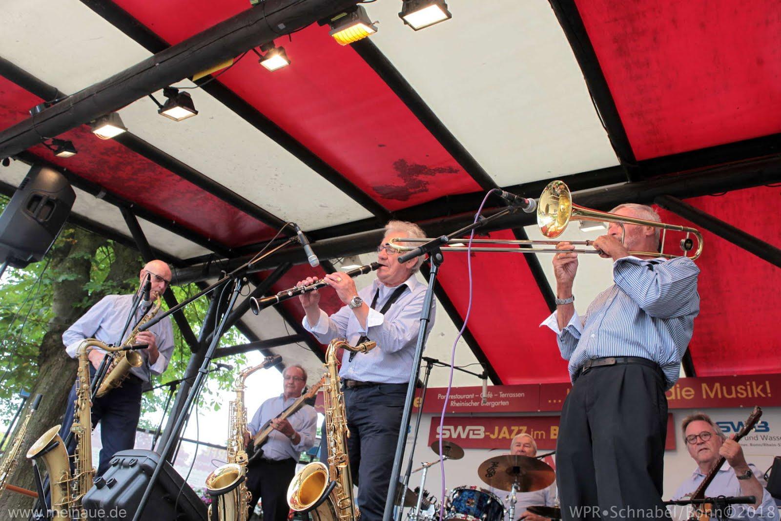 """""""Jazz im Biergarten"""" Rheinaue Bonn 2018"""