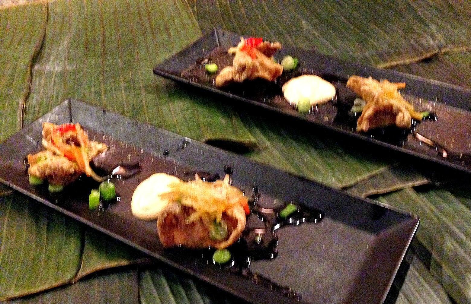 susan s savour it creating the filipino kamayan eating with