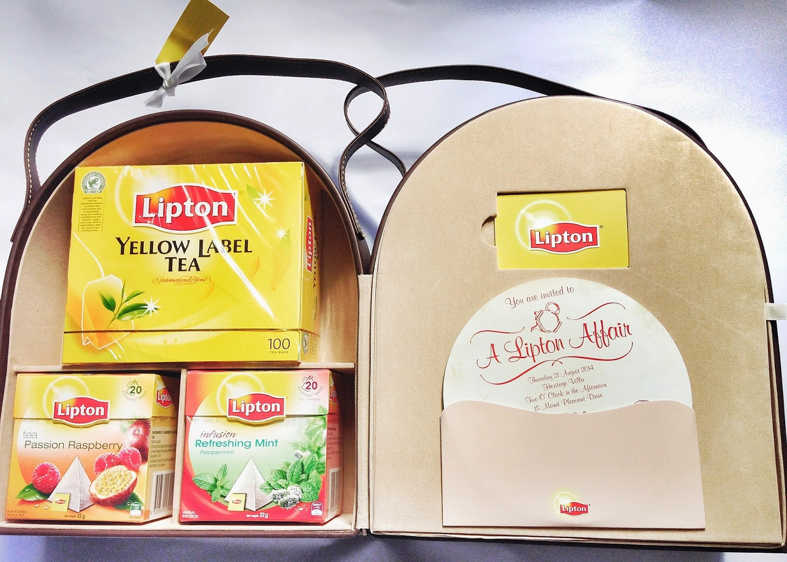 Lipton Invite Kit