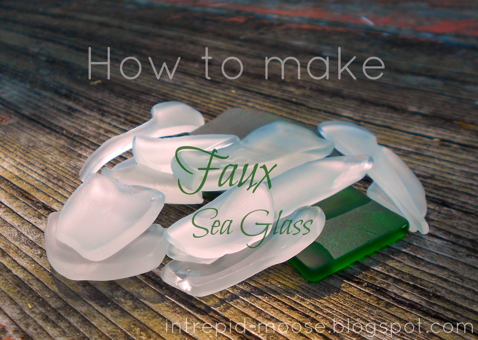 how to make faux sea glass - How To Make Sea Glass
