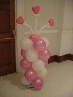 balon standing buah hati