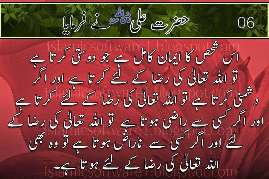 Hazrat Ali Murtaza Radi Allahu Anhu 6