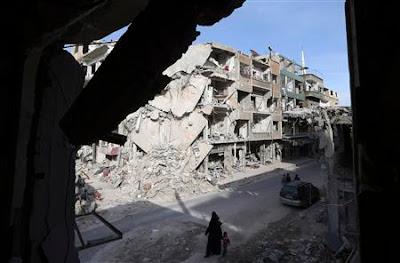 Perang, sivil, Syria, memusnahkan, pertanian, PBB, Rome, Beirut, Jenayah Perang