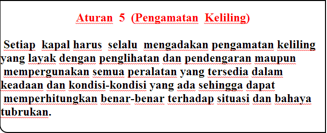 aturan 5