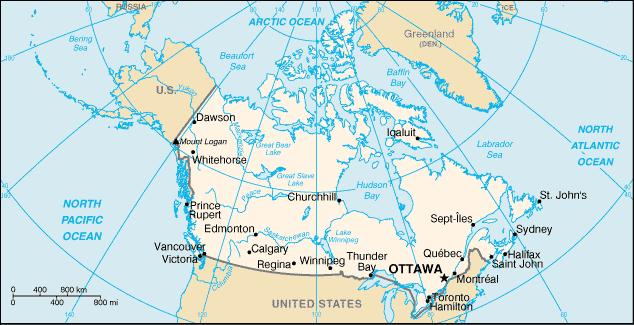 Le Pays Le Canada Fle Francais Langue Etrangere
