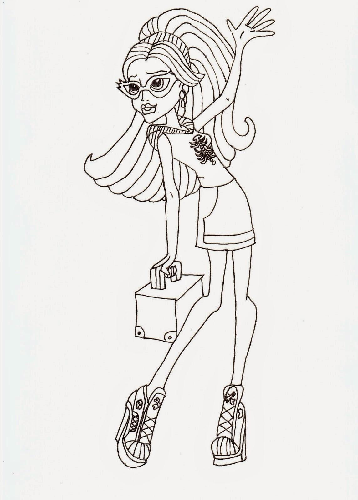 Monster High Fans 1: 6 Dibujos de las Monster High para imprimir y ...