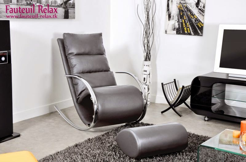 fauteuil relax beverly noir fauteuil relax. Black Bedroom Furniture Sets. Home Design Ideas