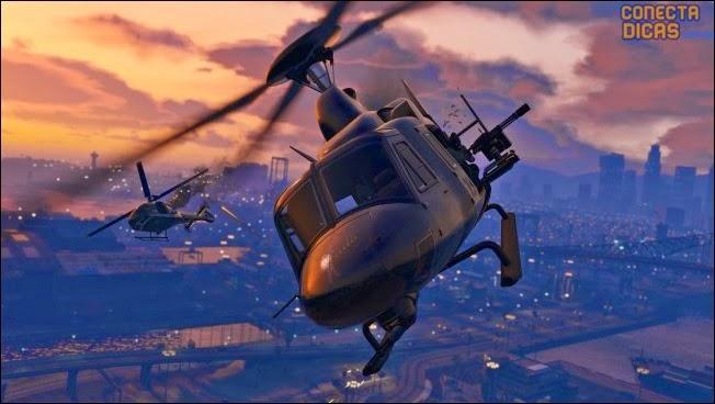 Heists GTA V - Helicóptero