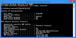 mempercepat koneksi internet di cmd