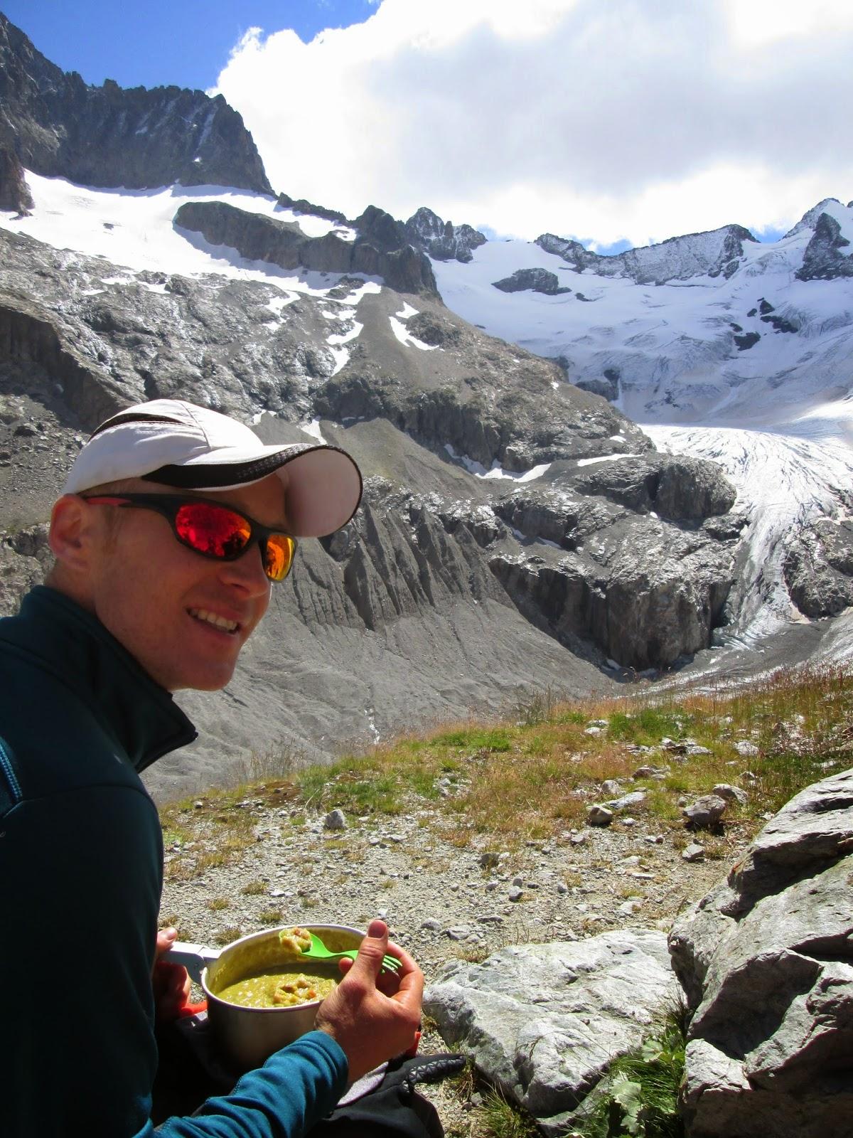Glacier de la Pilatte, Ecrins National Park, Alps France