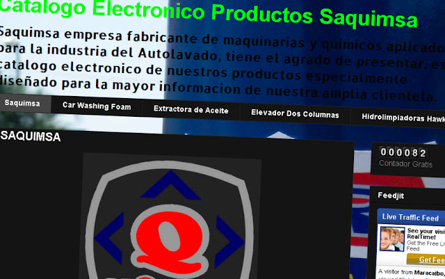 CATALOGO ELECTRONICO PRODUCTOS SAQUIMSA