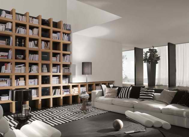 Italian living room furniture by mobileffe interior for Italian living room designs