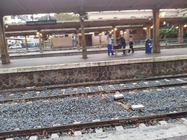 Stazione di Porta San Paolo Roma-Lido