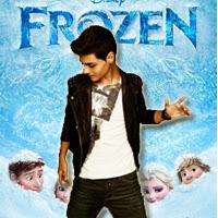 """Abraham Mateo interpreta 'La puerta hacia el amor' en """"Frozen: El Reino de Hielo"""""""