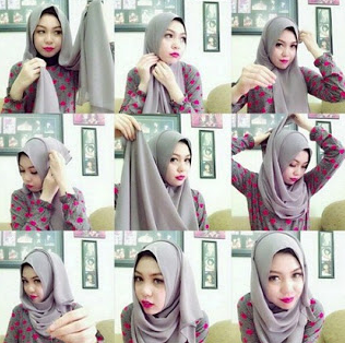 Tips Hijab Pashmina Casual