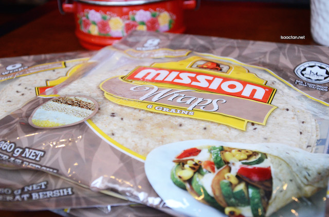 Mission Foods Malaysia Latest Addition - Mission 6-Grain Wrap
