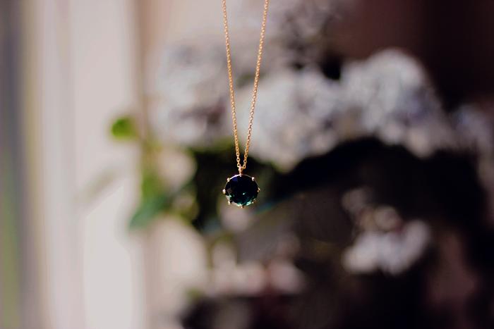 La Diamantine Petrol blue - Les Néréides Paris Fashion blog