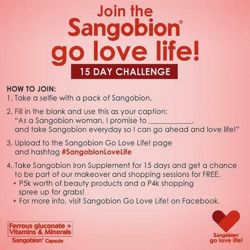 Sangobion Go Love Life