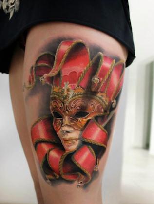 Four 3D Tattoos Designs Ideas