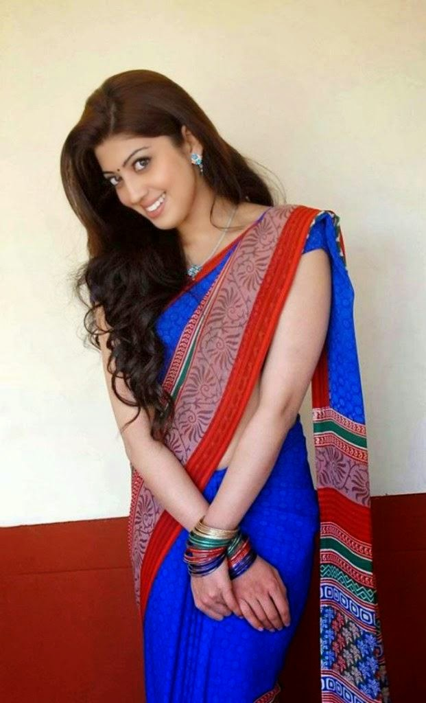Pranitha half saree latest hot photos