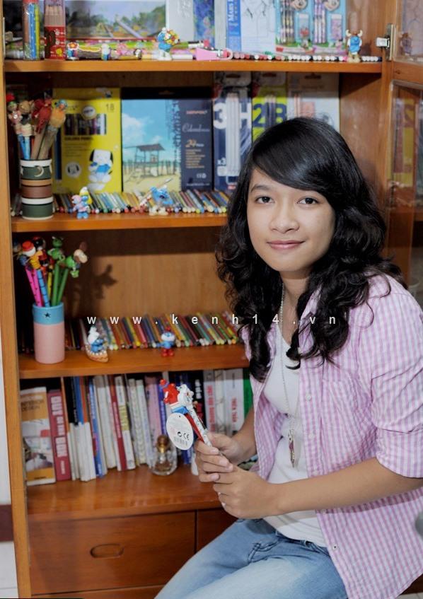 Cô sinh viên thiết kế đam mê sưu tập bút chì