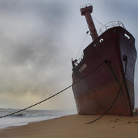"""Cristina Ballesteros, autora de """"La playa""""  en """"Postales desde el fin del mundo"""""""
