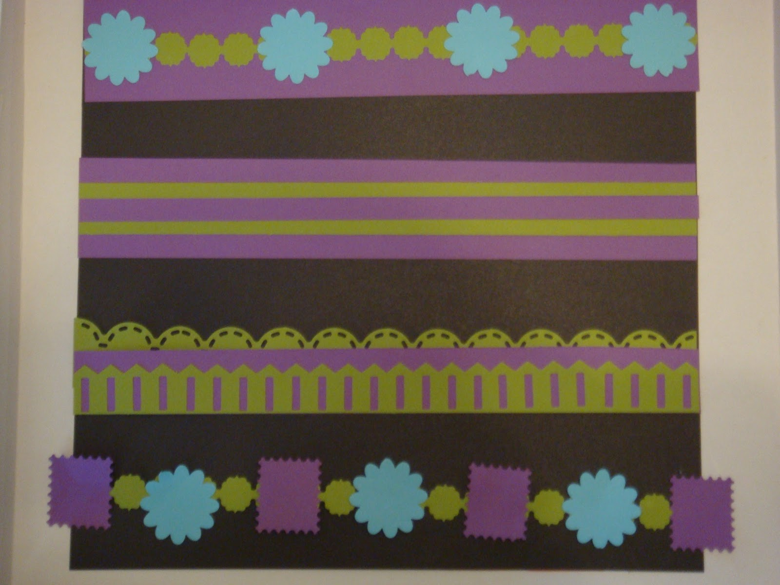 Scrapbook border ideas - These Are The Borders I Created For Croptober Fest I Love How The Look Changes With A Different Background Color