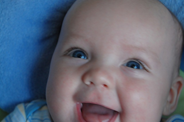 pictures of babies smiling
