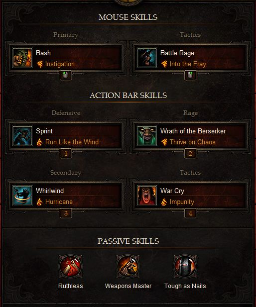 Best Inferno Barbarian Build in Diablo 3 [Guide]