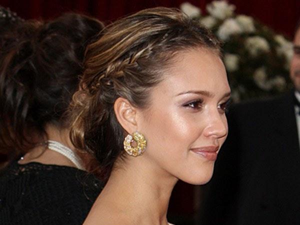 10 peinados de famosas para invitadas de boda Zankyou