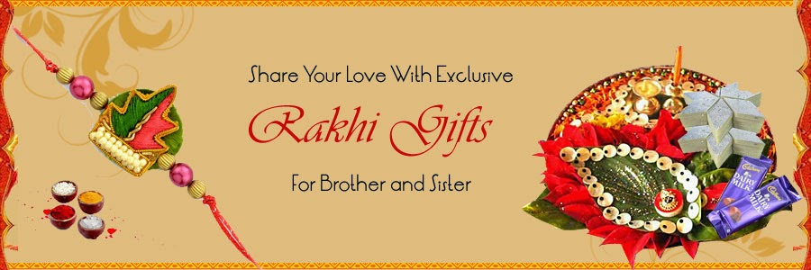 Share your love with exclusive Rakhi Gifts for Brother and Sister