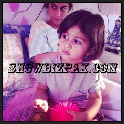 Meesha Shafi daughter