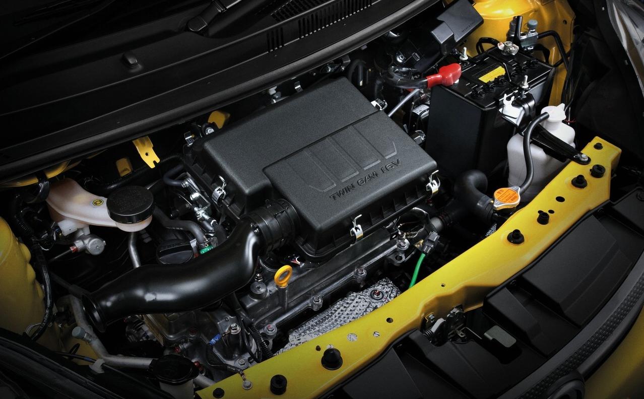enjin 1.5-liter DOHC DVVT enjin 16V