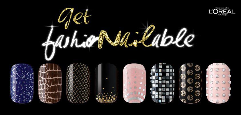 FashioNAILable Launch - L\'Oreal Paris Le Nail Art Sticker Launched ...