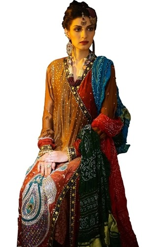 Antique Paksitani Bridal Dresses 2014-2015