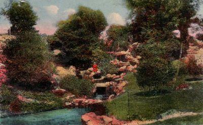 Le petit rocher ou grande cascade