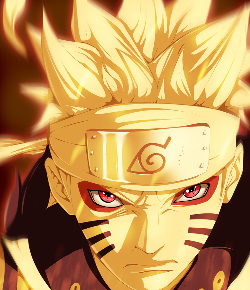 Photo Anime: Naruto Bijuu And Sage Mode