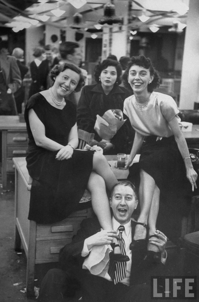 Office staff orgy