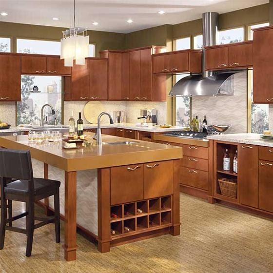 Simple Kitchen Design Hpd453: Modern Simple Kitchen Design