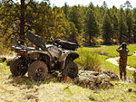 2012 YAMAHA Grizzly 550 FI Auto 4x4 EPS atv pictures 2