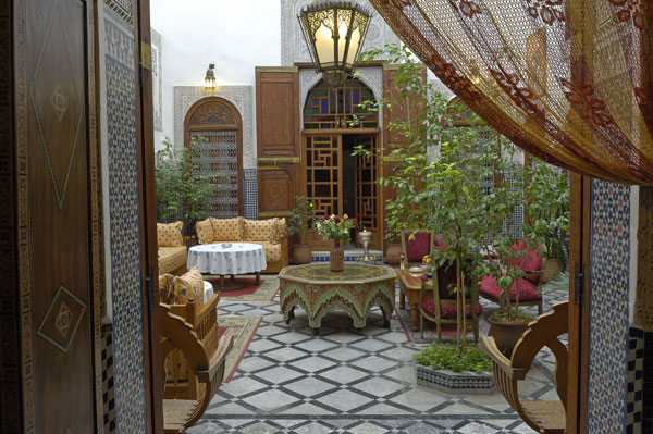 Armchair traveling with nikki moroccan architecture and style for Moroccan house design