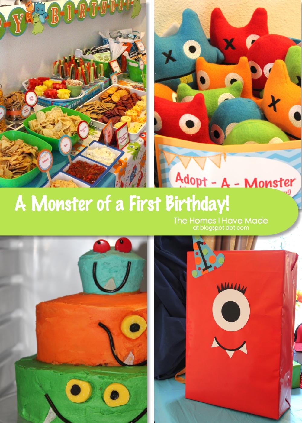 Monster's Birthday Stock Photography - Image: 10537322