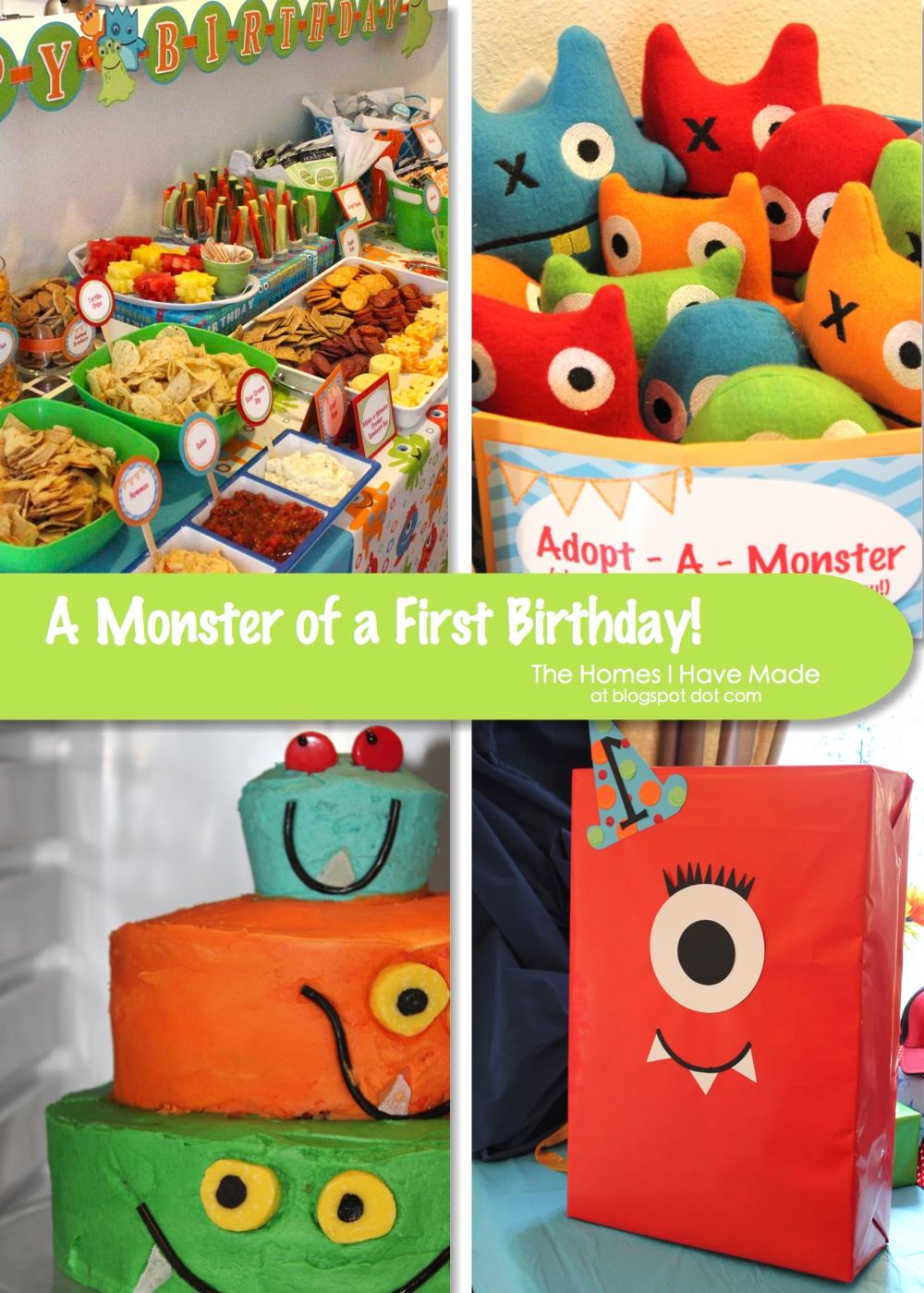 A Monster of a First Birthday Party! | The Homes I Have Made