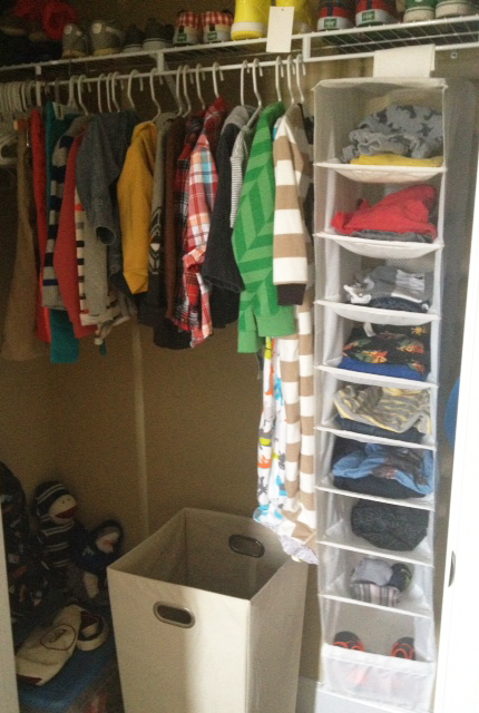 Hello Jack Blog: Closet Organization