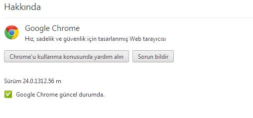 Google Chrome 24 Güncelleme
