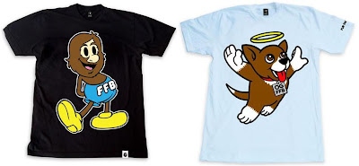 Fur Face Boy Series 4 T-Shirt Collection - Classic FFB &amp; Angel Bear Mai T-Shirts
