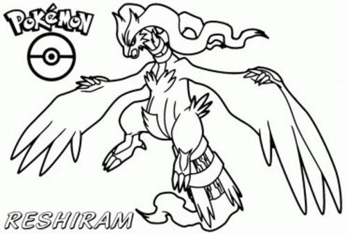 Coloring Pages For Pokemon Black And White : Free coloring pages pok?mon black and white