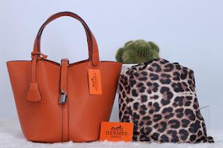 Tas KW Hermes Picotin Leopard Togo Set 3311RJ Jakarta